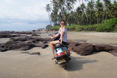 На скутере по пляжам Морджима