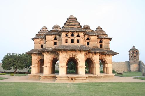 Храм Лотоса. Хампи.