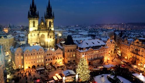 Прага. Новый год